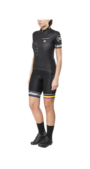 Bioracer Van Vlaanderen Pro Race Koszulka kolarska Kobiety czarny